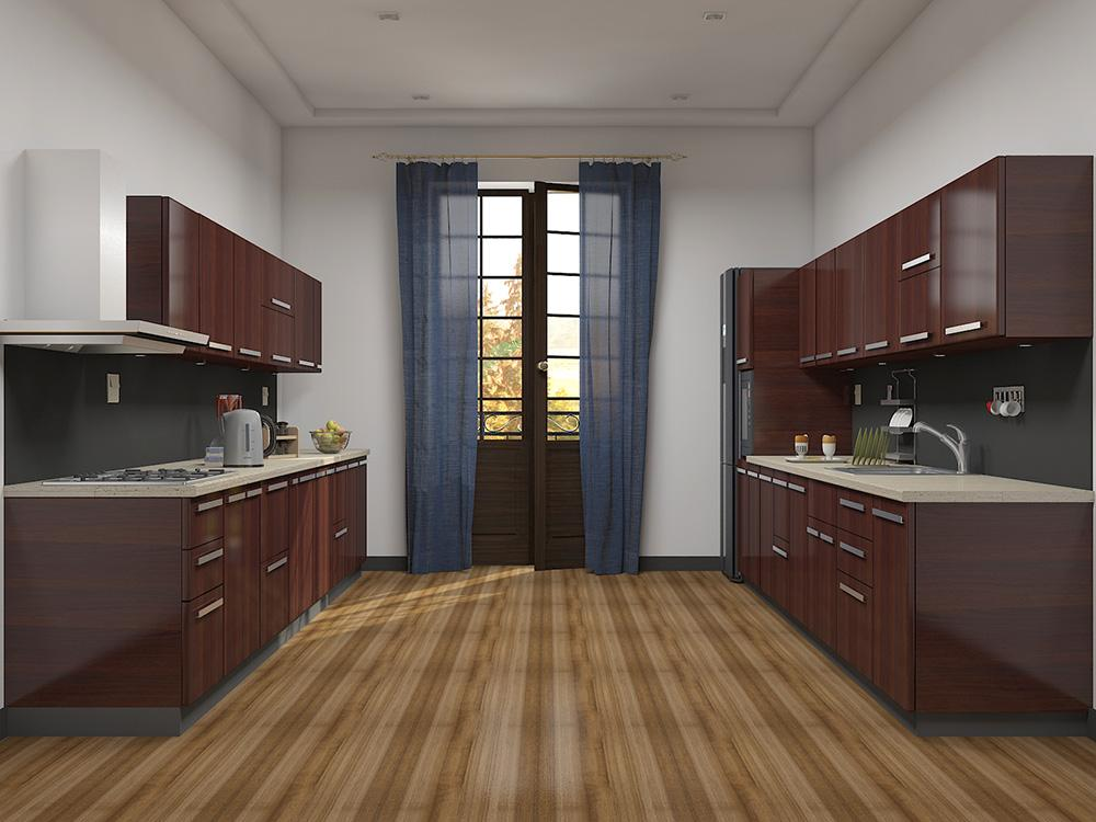 parallel kitchen design. parallel modular kitchen design