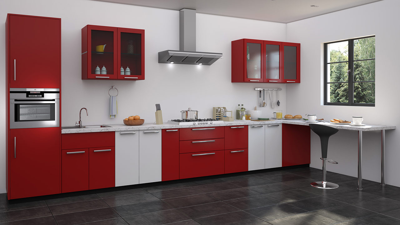 Small Red Kitchen Tables
