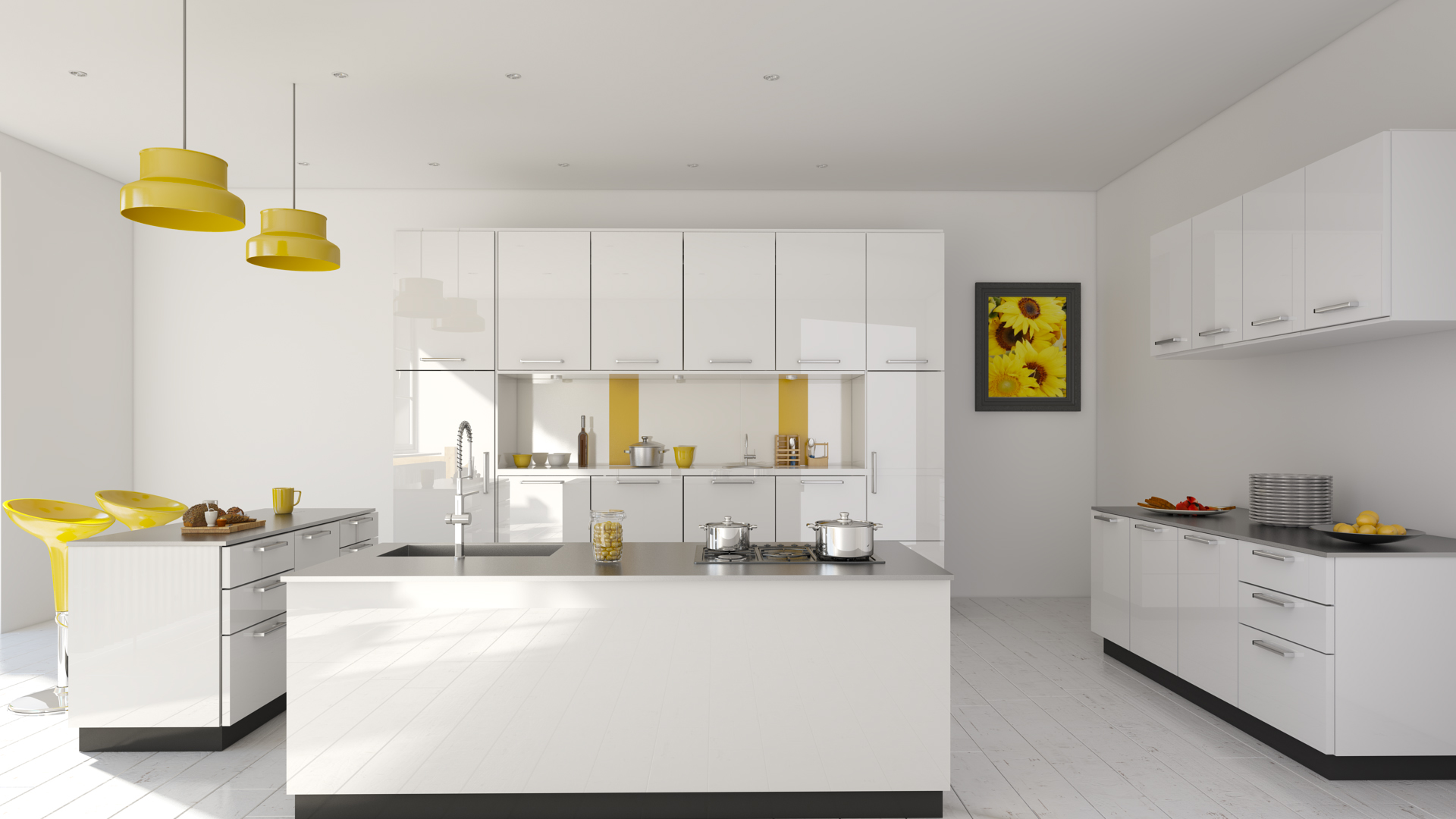 aristo modular lp parallel kitchens kitchen straight designs