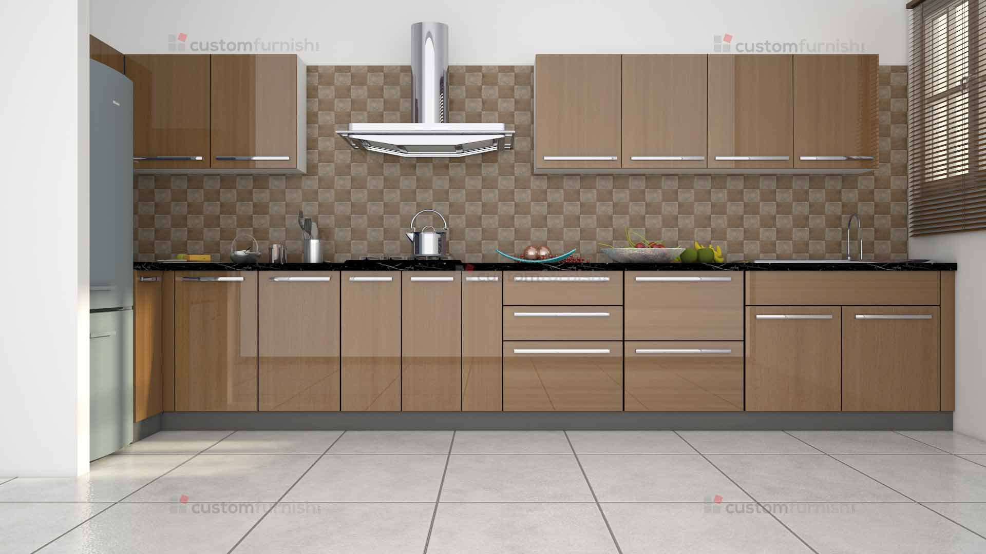 L Shaped Kitchen Part 42