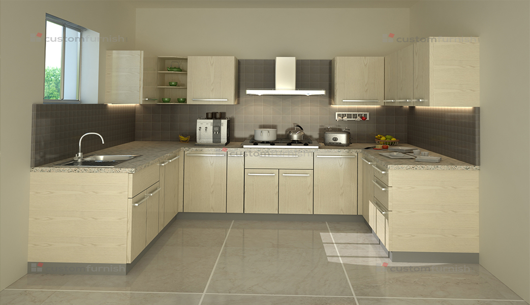 Modular kitchen designs modular kitchen designs small for Square shaped kitchen designs