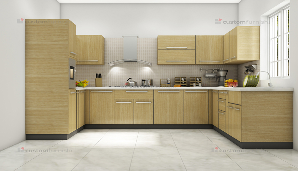 u shaped modular kitchen designs