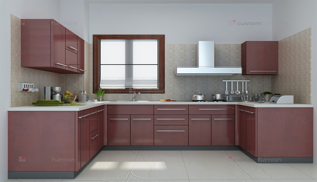 Marvelous U Shaped Kitchen