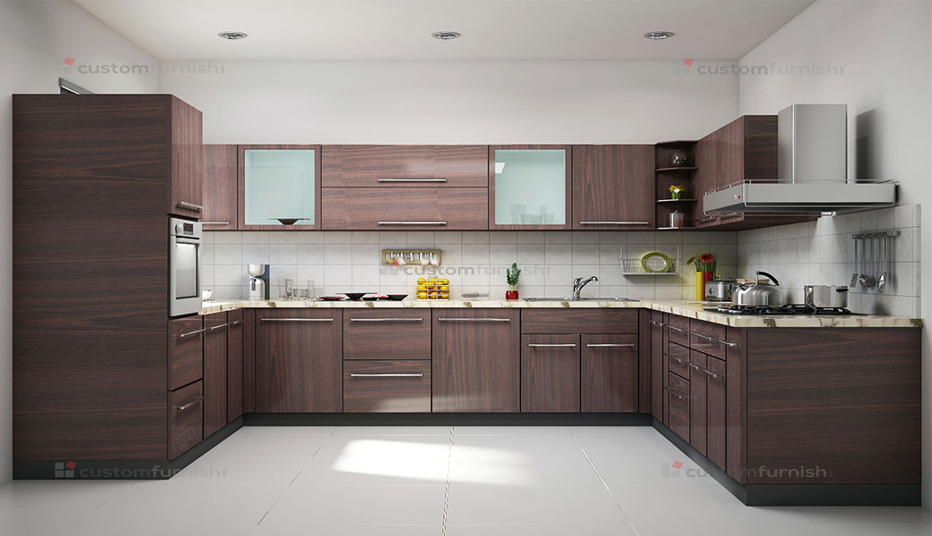 U shaped modular kitchen designs for Kitchen designs modular