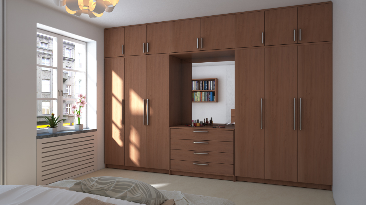Wardrobe with Lofts